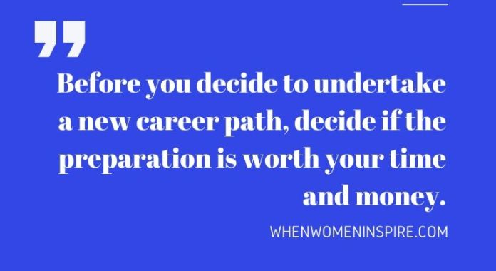 Career crossroads quote
