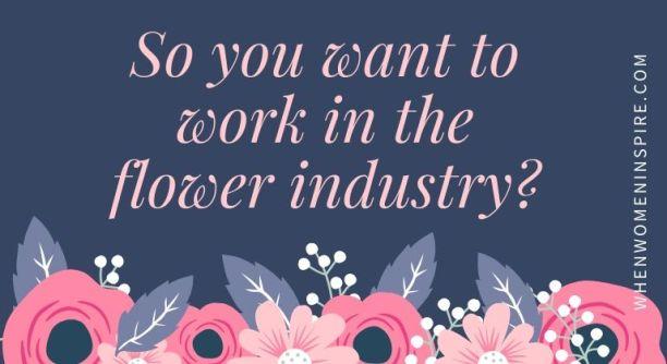 职业 - 花卉设计