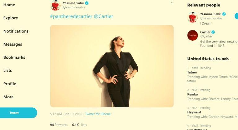 Yasmine Sabri on Twitter
