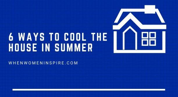 房子凉爽在夏天提示