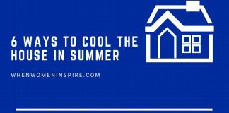 House cool in summer tips