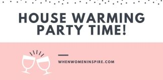 House warming party tips