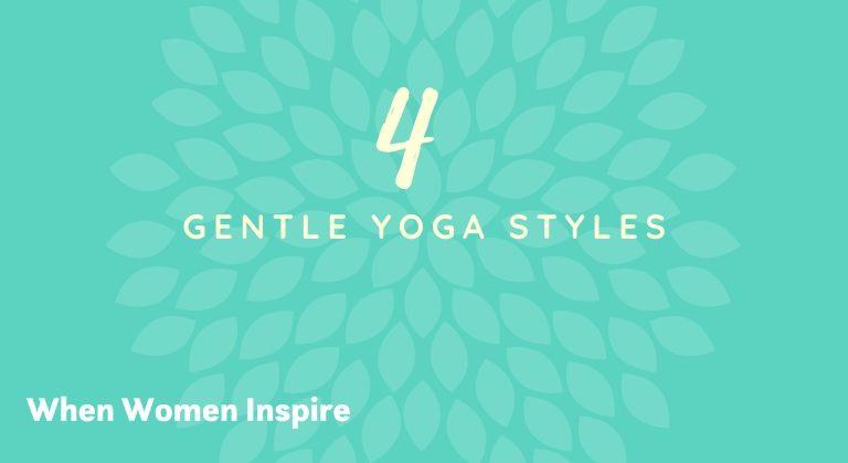 Gentle yoga styles