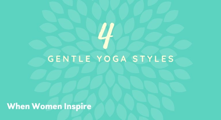 Styles de yoga doux