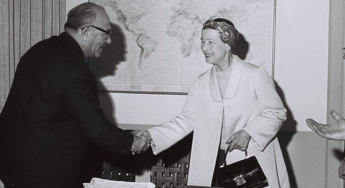 Féministes célèbres Simone de Beauvoir