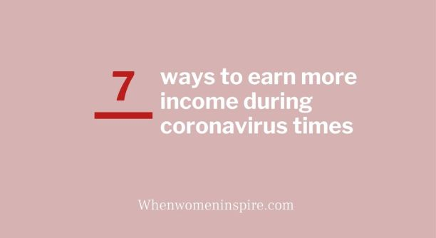 Revenu supplémentaire pendant le coronavirus