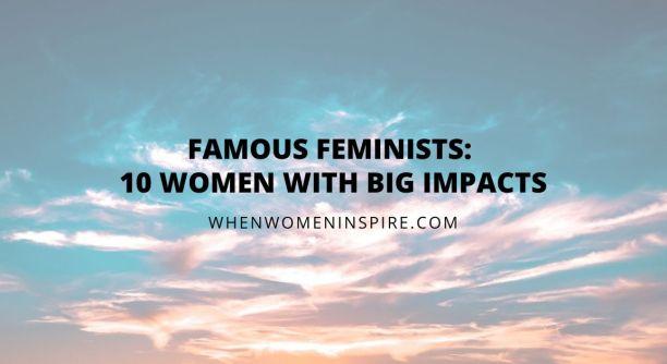 Liste des féministes célèbres