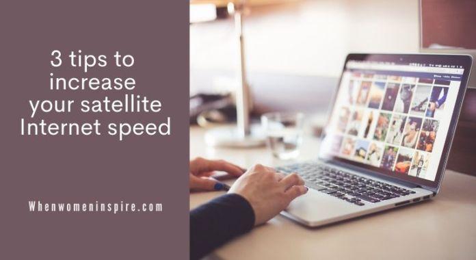 Satellite Internet speed tips