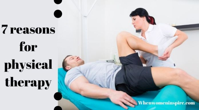 Reasons for physical therapy