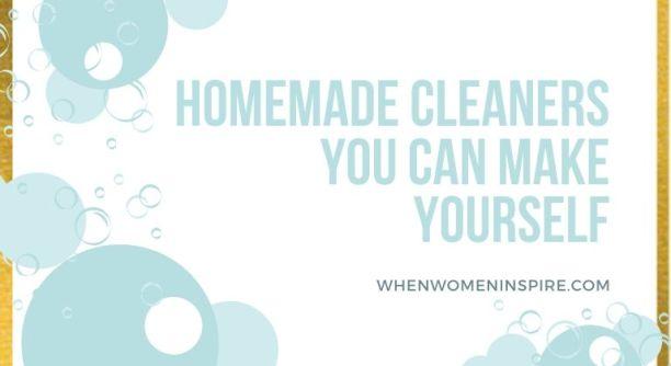 DIY 家用清洁剂