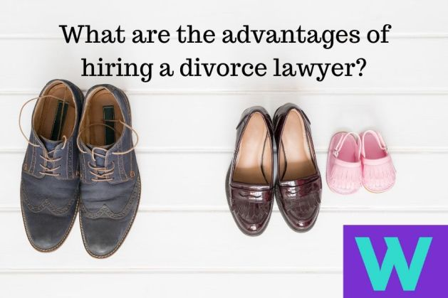 Divorce lawyer benefits