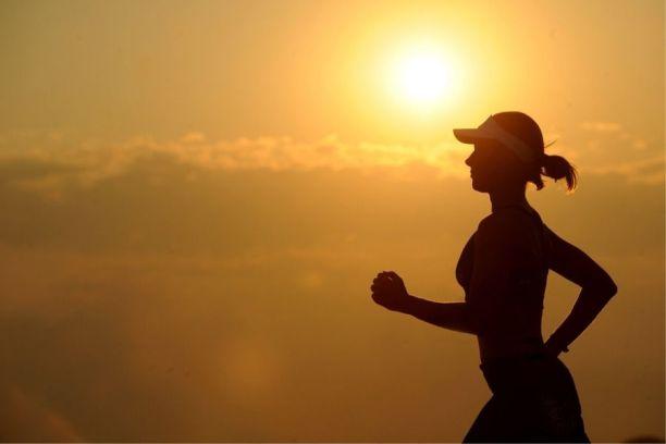 通过跑步保持健康