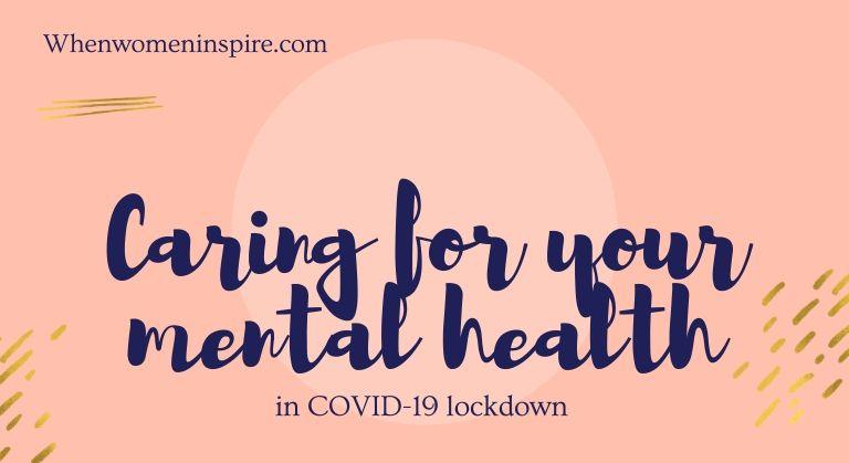锁定期间的心理健康