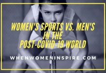 Women's sports vs men post-COVID-19
