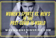 Women's sports vs men post-COVID-19