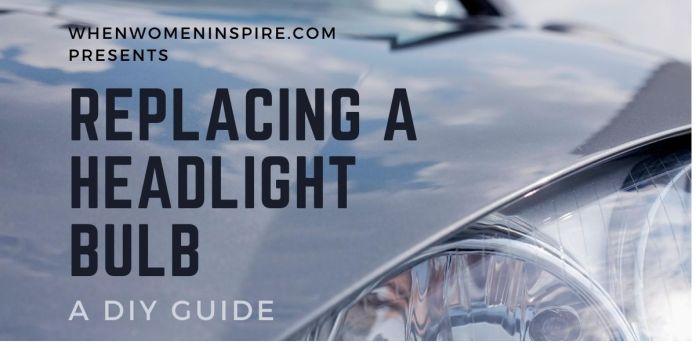 Headlight bulb replacement