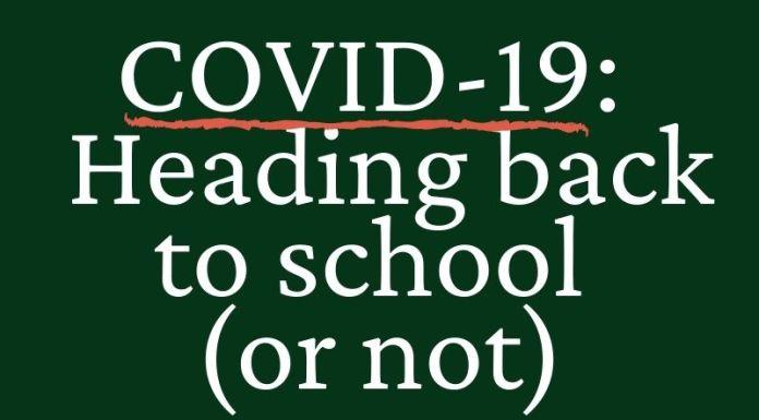 COVID-19 教育:回到大学