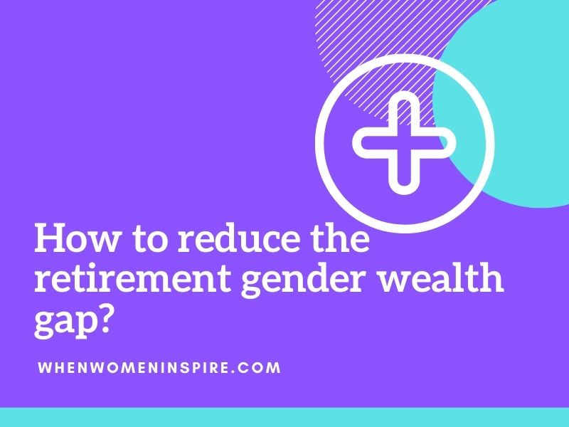 écart de richesse entre les sexes à la retraite