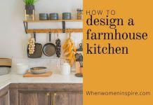 Design a farmhouse kitchen