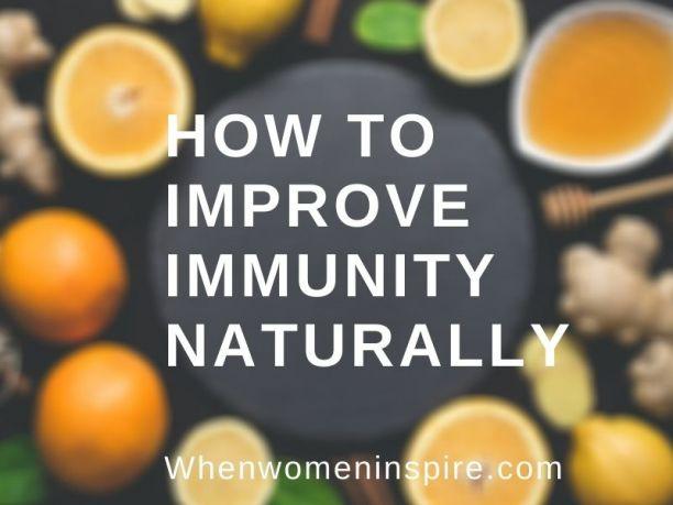 Verbessern Sie die Immunität zu Hause