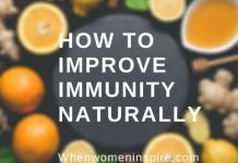 Improve immunity at home