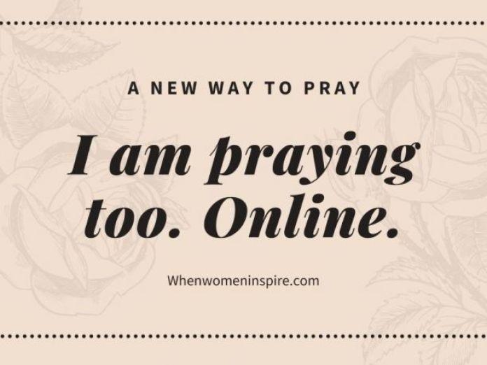 Online prayer request