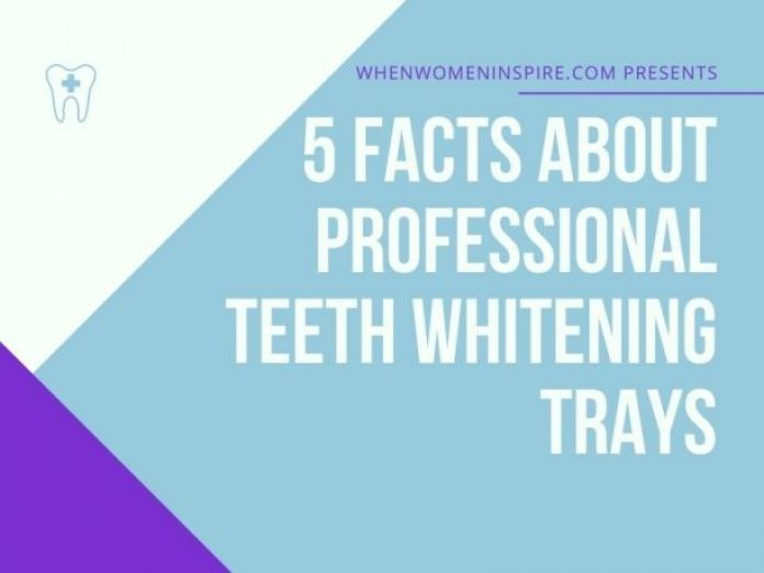 Facts about teeth whitening trays