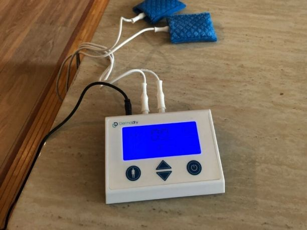 Dermadry Total iontophoresis machine review