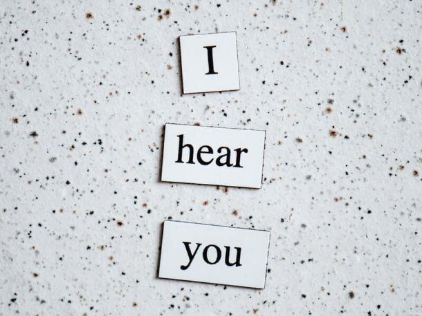 I hear you. Genetic hearing loss