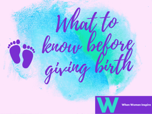 Before giving birth tips