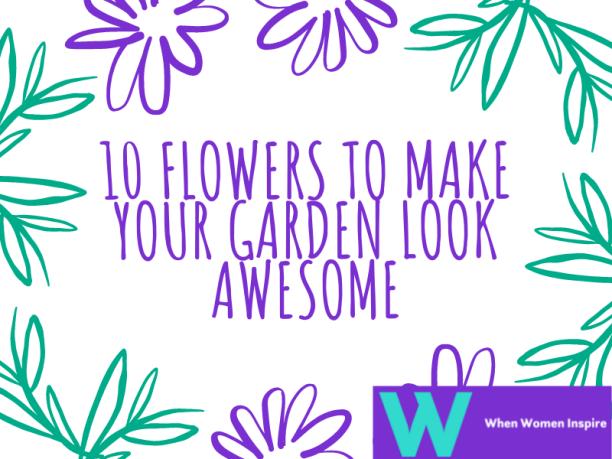 Beautiful flowers for garden