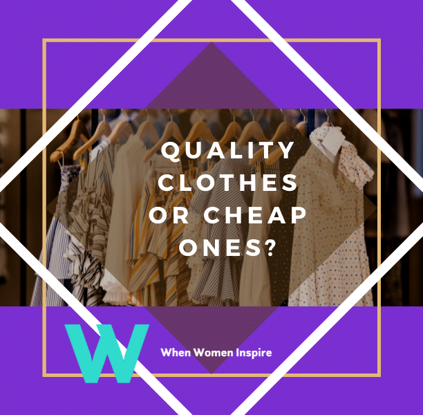 Quality clothing or not?