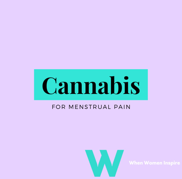 Cannabis for menstrual pain