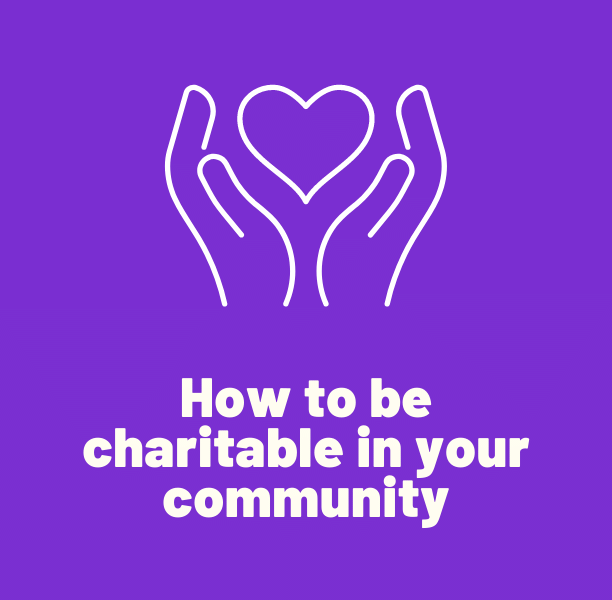 Charitable in your community