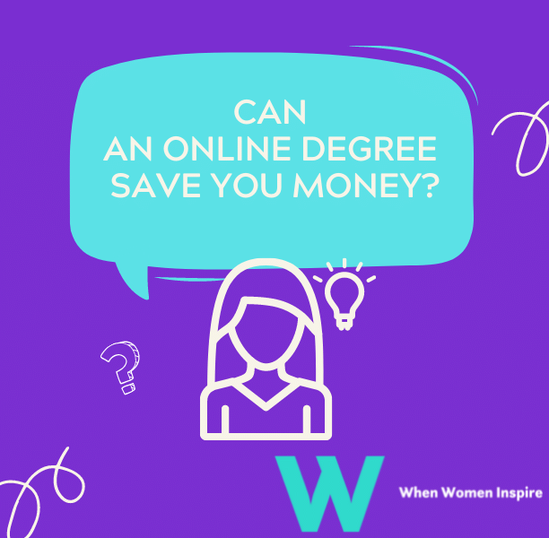 Online degree: Save money