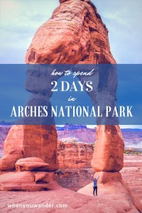 Arches National Park is teeming with astounding formations and fun hikes. Get a hiking filled Arches itinerary for 2 perfect days in this surreal wonderland.