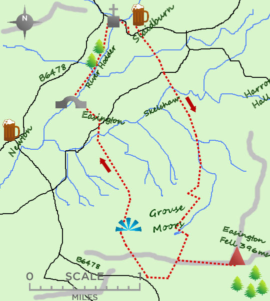 Slaidburn map