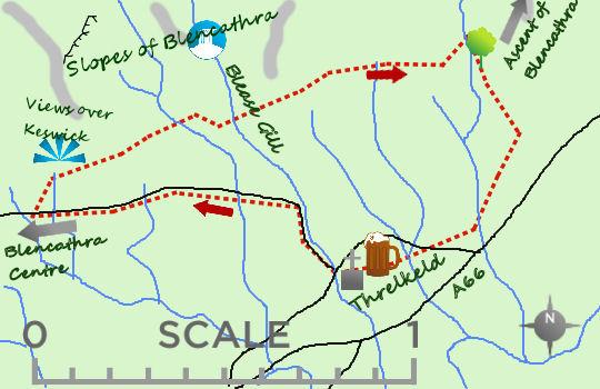 Threlkeld map