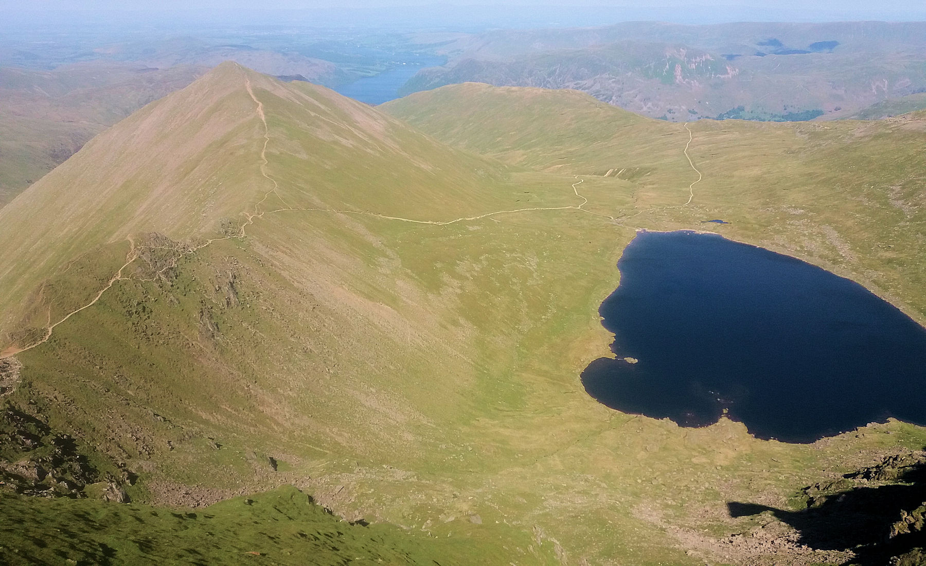 Red Tarn and Swirral Edge