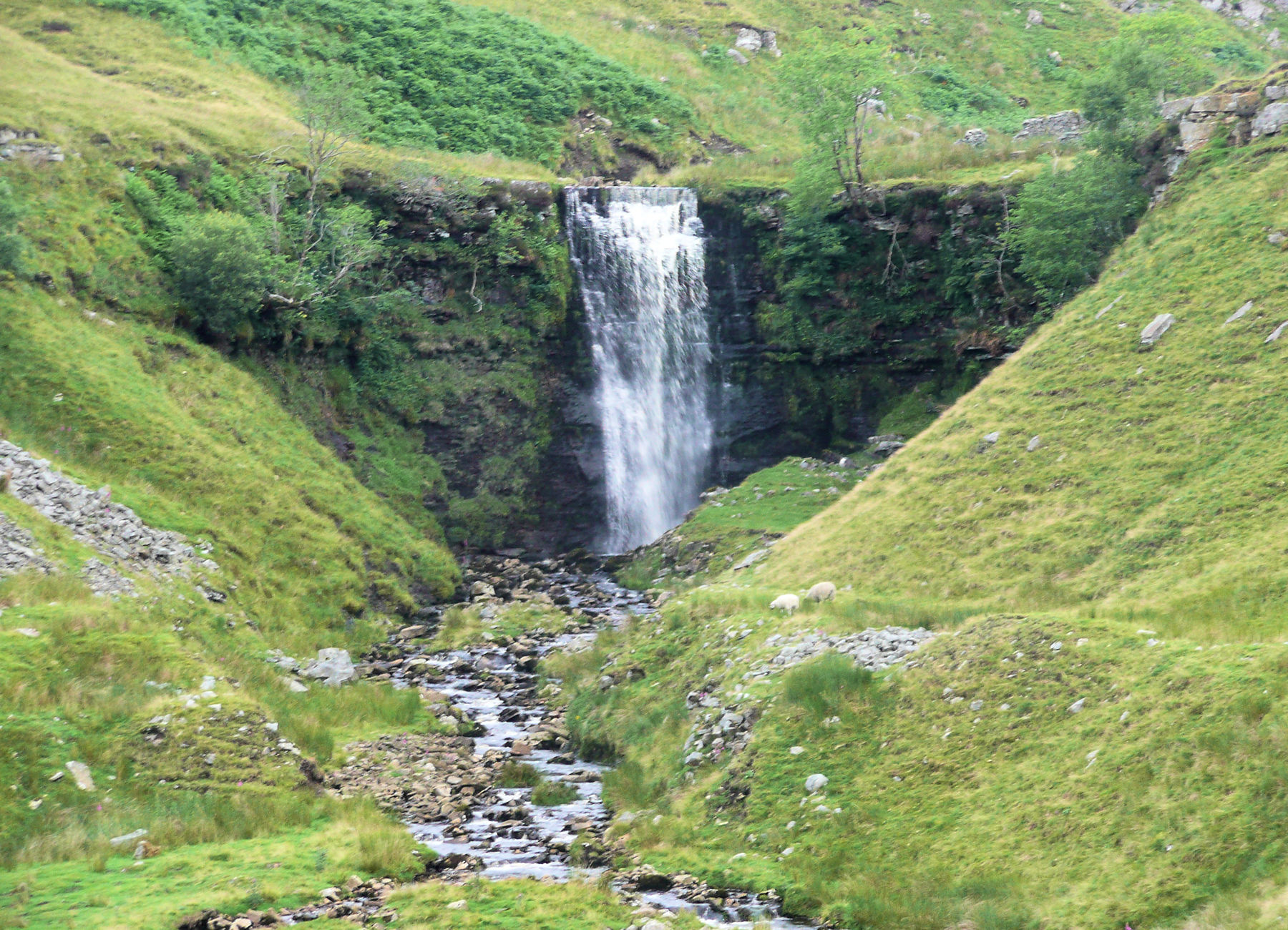 Waterfall on Whernside