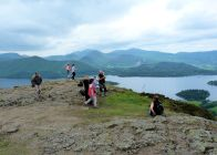 Walla Crag summit