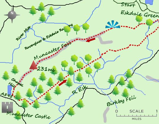 Muncaster Fell map