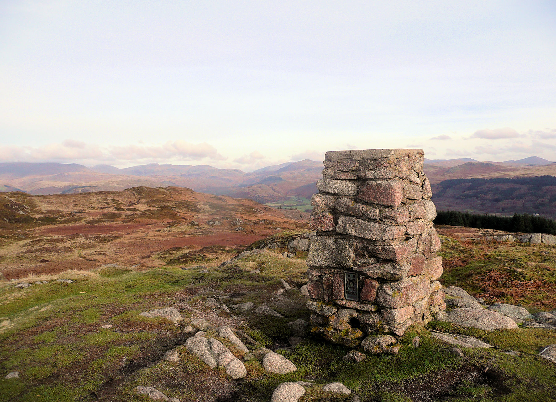 Summit Muncaster Fell