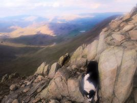 Rocky ridge on Swirl How