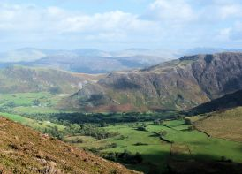 Ard Crags over Newlands