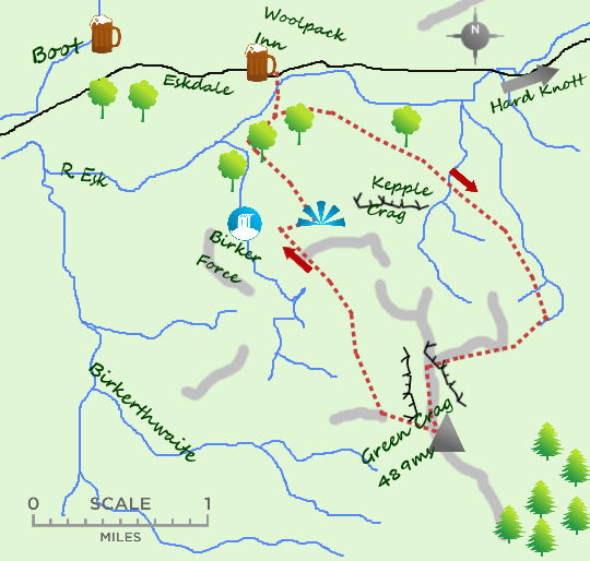 Eskdale map