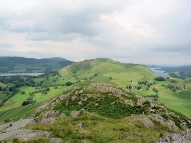 Hallin Fell from Beda Head