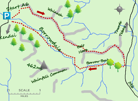 Other Borrowdale map