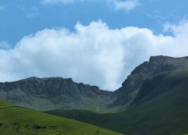 Scafells from Wasdale