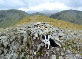 Summit of St Sunday Crag